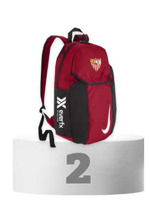 Official Red Backpack Sevilla FC